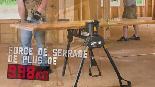 Étau Rockwell Jawhorse, 37 po - image 3 from the video