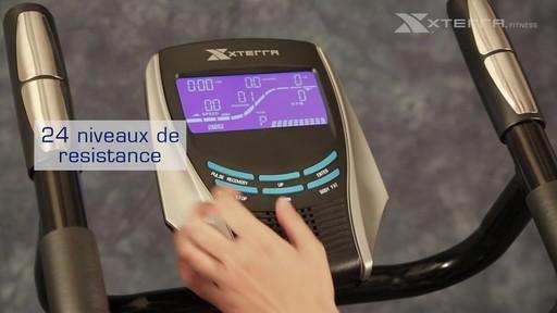 Vélo stationnaire vertical Xterra XT450SGU autoalimenté - image 5 from the video