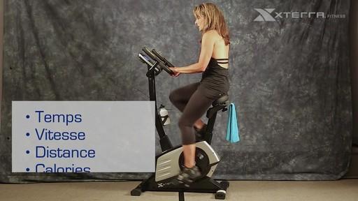 Vélo stationnaire vertical Xterra XT450SGU autoalimenté - image 6 from the video
