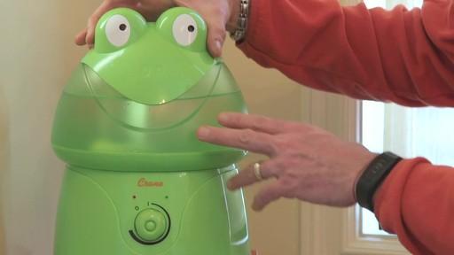 Humidificateur ultrasonique Crane, grenouille- le témoignage de Franco - image 4 from the video