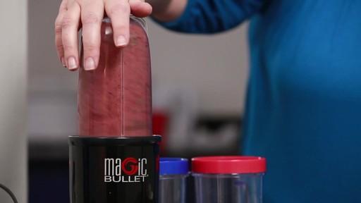 Mélangeur Magic Bullet Single Shot - Témoignage de Gwen - image 8 from the video