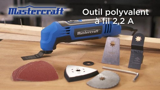 Outil polyvalent à fil Mastercraft, 2,2 A - image 10 from the video