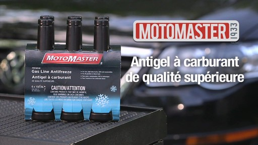 Antigel à carburant MotoMaster qualité supérieure - image 1 from the video