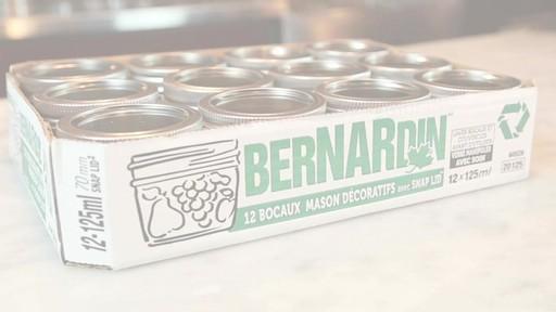 Bernardin Bocaux mason décorative 125 ml - image 1 from the video