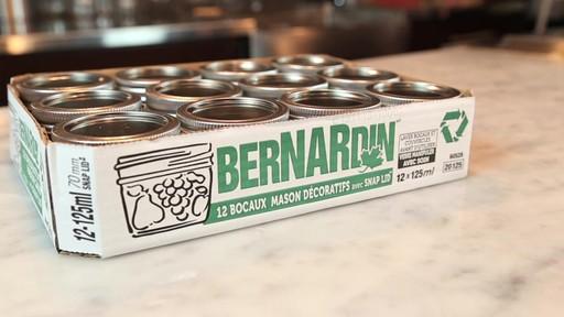 Bernardin Bocaux mason décorative 125 ml - image 2 from the video