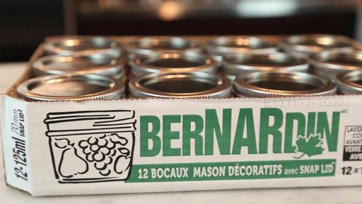 Bernardin Bocaux mason décorative 125 ml - image 8 from the video