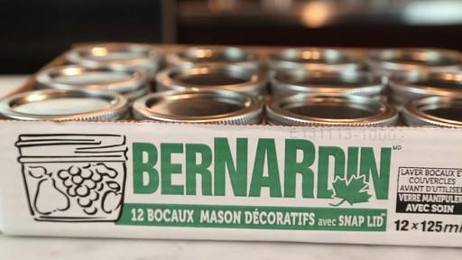 Bernardin Bocaux mason décorative 125 ml - image 9 from the video