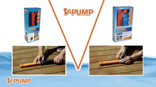 Pompe en V avec tuyau de 20 pi et collier - image 7 from the video