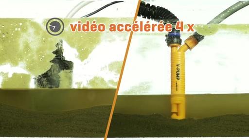 Pompe en V avec tuyau de 20 pi et collier - image 9 from the video