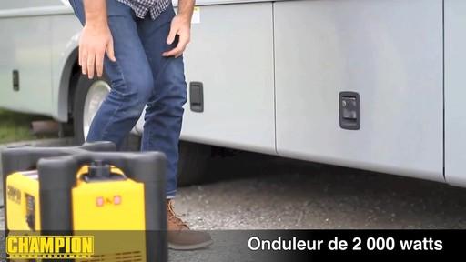 Génératrice onduleur, 2 000 W - image 2 from the video