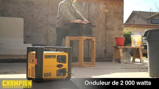 Génératrice onduleur, 2 000 W - image 4 from the video