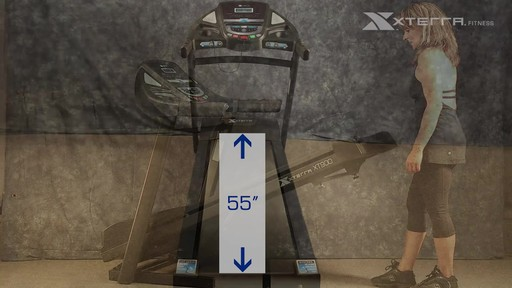 Tapis roulant Xterra XT900T - image 3 from the video