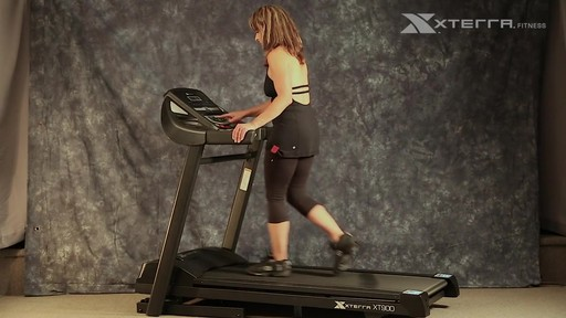 Tapis roulant Xterra XT900T - image 7 from the video