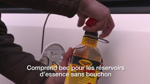 Additif pour système d'alimentation Rislone - image 6 from the video
