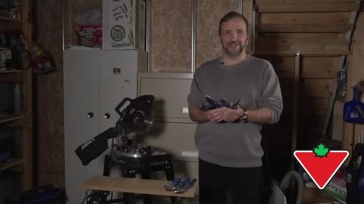 Jeu de pinces et clé Mastercraft, 6 pces - Témoignage de Conrad - image 9 from the video