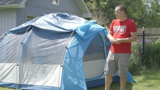 Tente Woods™ Big Cedar, 4 personnes avec Nathan - Témoignage de TESTE - image 2 from the video