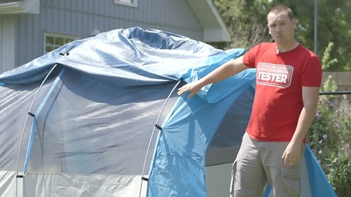 Tente Woods™ Big Cedar, 4 personnes avec Nathan - Témoignage de TESTE - image 3 from the video