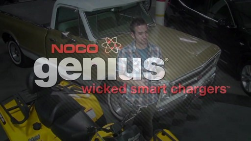 Chargeur intelligent Noco Genius G3500 - image 10 from the video