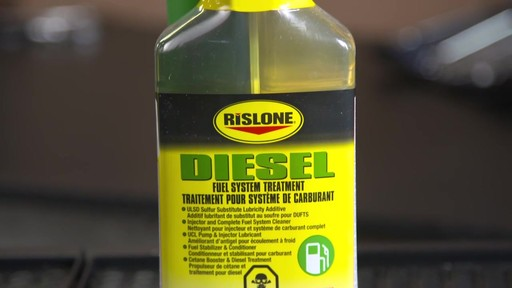 Additif de diesel Rislone - image 5 from the video
