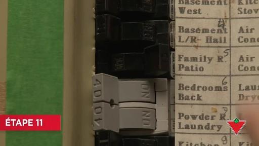 Comment installer un éclairage de sécurité - image 8 from the video