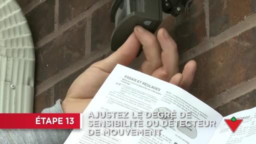 Comment installer un éclairage de sécurité - image 9 from the video