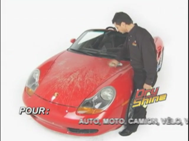 Produit de lavage et cirage sans eau Dry Shine - image 1 from the video