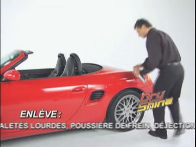 Produit de lavage et cirage sans eau Dry Shine - image 3 from the video