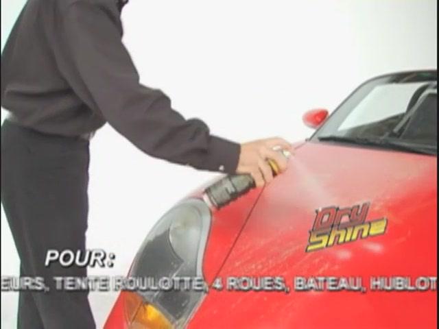 Produit de lavage et cirage sans eau Dry Shine - image 6 from the video