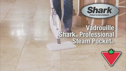 Vadrouille Shark Professional Steam Pocket - image 1 from the video