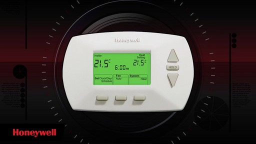 Comment installer un Thermostat programmable Honeywell - image 9 from the video
