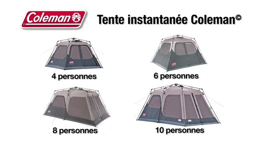 Tente Coleman Instantanée - image 10 from the video