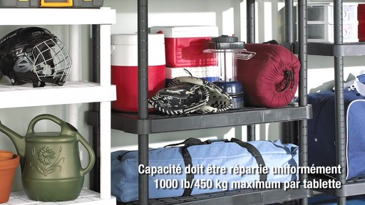 Étagères ajustables For Living - image 8 from the video