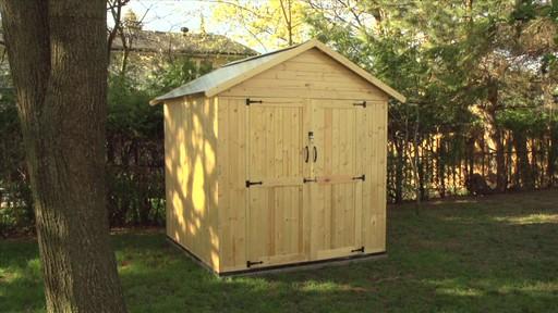 Remise de jardin en bois yardworks outdoor storage vnd for Cabanon canadian tire