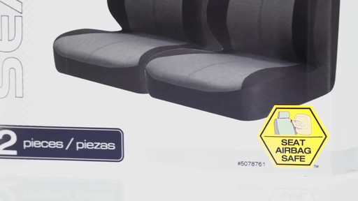How to Install Seat Covers - image 3 from the video