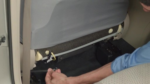 How to Install Seat Covers - image 5 from the video