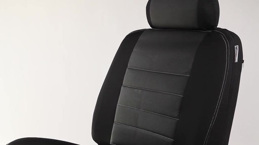 Masque Phantom Truck Black & Grey Seat Cover Set - image 4 from the video