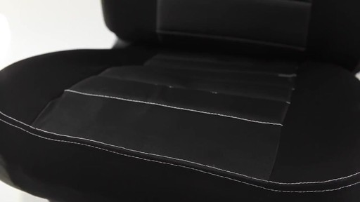 Masque Phantom Truck Black & Grey Seat Cover Set - image 6 from the video