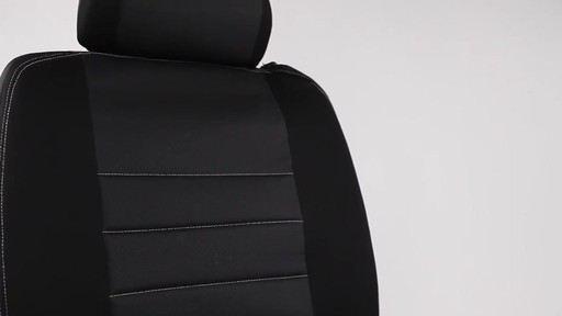 Masque Phantom Truck Black & Grey Seat Cover Set - image 8 from the video