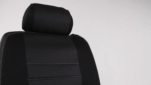 Masque Phantom Truck Black & Grey Seat Cover Set - image 9 from the video