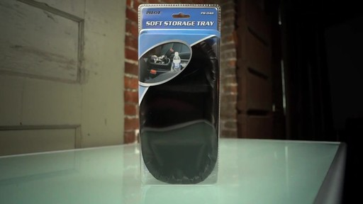 Pilot Automotive Soft Storage Tray - image 9 from the video