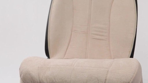 Auto Expressions Tan Safety Fit Seat Cover 187 Seat Covers