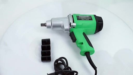 Kawasaki Heavy Duty 1'2 in Impact Wrench - image 3 from the video