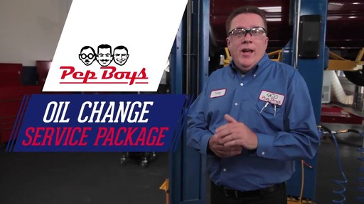 Oil Change Packages - Pep Boys - image 1 from the video