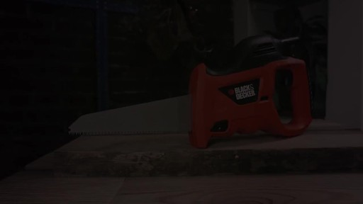 Black & Decker Powered Handsaw - image 10 from the video