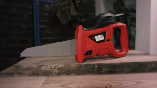 Black & Decker Powered Handsaw - image 2 from the video