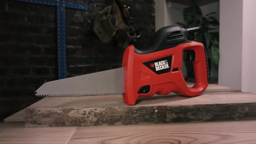 Black & Decker Powered Handsaw - image 3 from the video