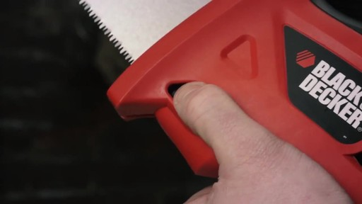 Black & Decker Powered Handsaw - image 6 from the video