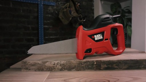 Black & Decker Powered Handsaw - image 9 from the video