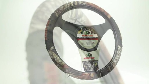Camo Bullet Grip Steering Wheel Cover From Mossy Oak 187 Pep