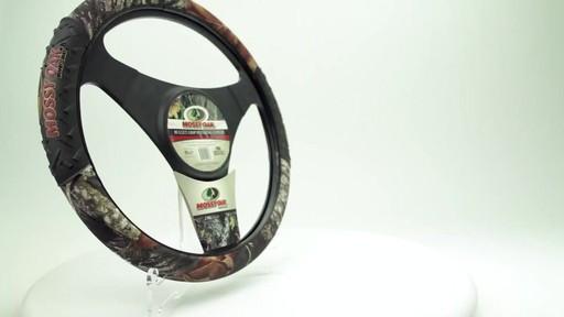 Camo Bullet Grip Steering Wheel Cover From Mossy Oak 187 Pep